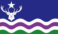 The flag of Exmoor